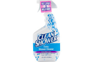 Clean Shower Daily Shower Cleaner Fresh Clean Scent