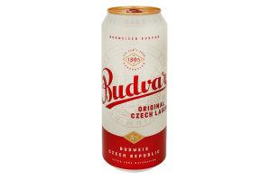 Пиво 0.5л 5% светлое B:Original Budwеiser Budvar ж/б