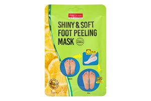 Маска-пілінг для ніг Shiny&Soft Purederm 34г