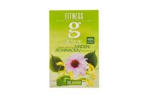 Суміш g`tea! Fitness травно-ягідна з зеленим чаєм 20*2г