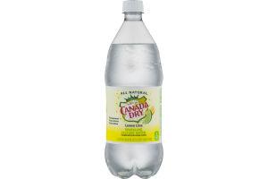 Canada Dry Sparkling Seltzer Water Lemon Lime