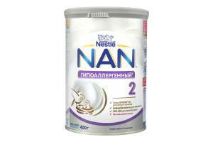 Суміш суха для дітей від 6міс Гіпоалергенний №2 Optiрro NAN з/б 400г