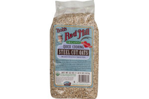 Bob's Red Mill Organic Quick Cooking Steel Cut Oats