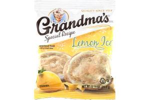 Grandma's Special Recipe Cookies Lemon Ice