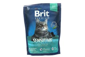 Корм Brit для котів сухий з чутливим травленням 300г х6