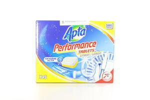 Таблетки для посудомоечных машин lemon Аpta 45шт