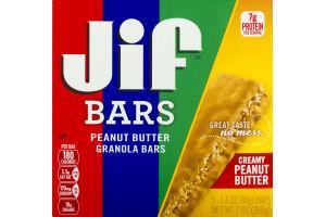 Jif Bars Peanut Butter Granola Bars Creamy Peanut Butter