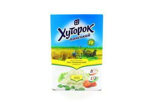 Рис пропаренный в пакетиках Хуторок Панський к/у 8х100г