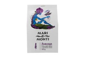 MARI e MONTI сіль для ванн Лаванда 500г