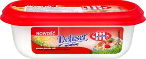 Сир-крем Mlekovita Deliser Помідор-паприк-чилі 45% 125г Польща х