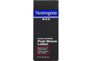 Neutrogena Men Post Shave Lotion Razor Defense