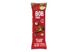 Цукерка Яблучно-вишневий страйп Bob Snail м/у 14г