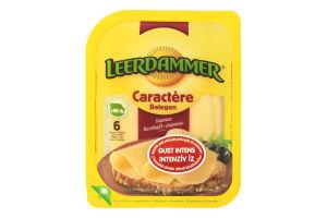 Сир 48% твердий Caractere Leerdammer п/у 125г