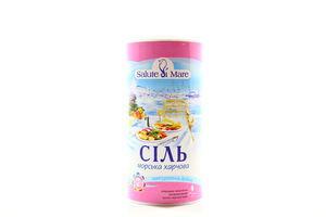 Соль морская натуральная Салют Де Мар 350г