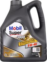 Олива моторна синтетична 5W-40 3000 Mobil Super 4л