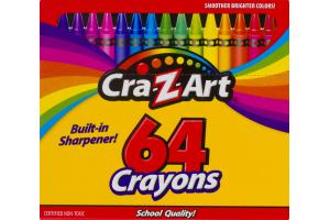 Cra-Z-Art Crayons 64 CT