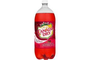 Canada Dry Cranberry Ginger Ale Caffeine Free