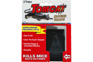 Tomcat Mouse Traps - 2 CT