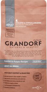 Корм для собак Grandorf кролик с картофелем сухой