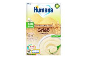 Каша безмолочная пшеничная сухая для детей от 6мес Humana к/у 200г