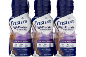 Ensure High Protein Nutrition Shake Milk Chocolate - 6 PK