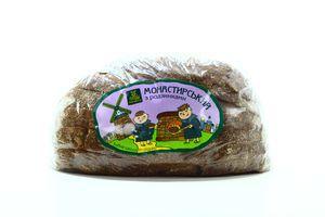 Хліб Мілльвіль Монастирський з родзинками наріз скибк 290г