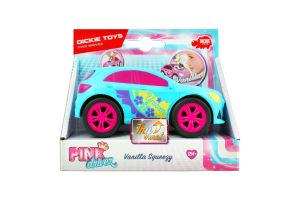 Машинка для дітей від 3років №3181000 Vanilla Squeezy Pink drivez Dickie toys 1шт