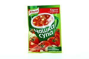 Суп быстрого приготовления Харчо с сухариками Чашка супа Knorr м/у 13.7г