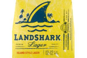 LandShark Island Style Lager - 12 PK