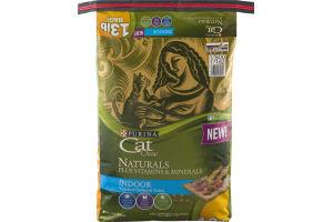 Purina Cat Chow Naturals Plus Vitamins & Minerals Indoor with Real Chicken & Turkey