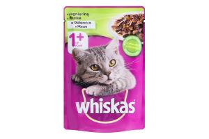 Корм для котів з ягням Whiskas д/п 100г