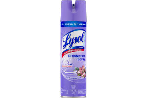 Lysol Disinfectant Spray Freshzone Early Morning Breeze Scent