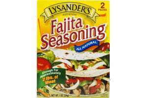 Lysander's Fajita Seasoning - 2 CT