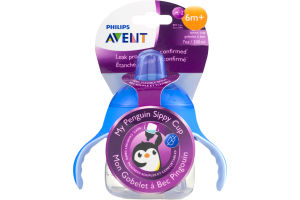 Philips Avent My Penguin Sippy Cup 6m+
