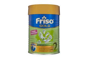 """Суміш суха молочна з 6 до 12 місяців """"Friso Gold 2"""" LockNutri 400 г"""