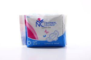 Прокладки гигиенические Comfort Ultra Light Cotton&Velvet Normal Clinic 10шт