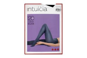 Колготки жіночі Intuicia Comfort Premium 120den №3 чорний