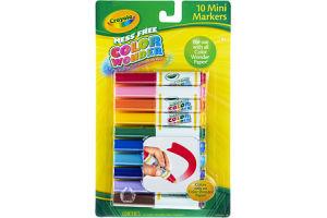 Crayola Mess Free Color Wonder Mini Markers