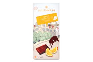 Шоколад чорний 74% Orange Discover Europe Millennium к/у 100г