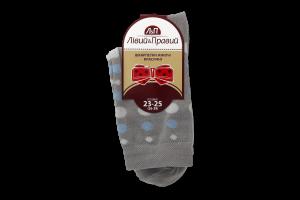 Шкарпетки жіночі класичні Лівий&Правий 738159 36-39 світло сірий