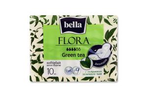 Прокладки гігієнічні Green tea Flora Bella 10шт