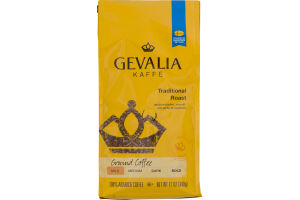 Gevalia Kaffe Traditional Roast Ground Coffee Mild
