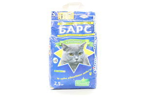 Наповнювач для котів Барс №6 2,5кг х8