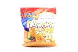Попкорн со вкусом сыра Круїз м/у 30г