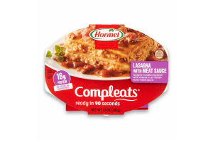 Hormel Compleats Lasagna with Meat Sauce, 10 Ounce