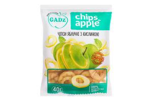Чіпси яблучні з кислинкою Chips Apple Gadz м/у 40г