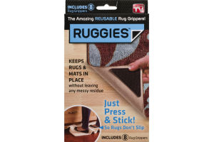 Ruggies Rug Grippers - 8 CT