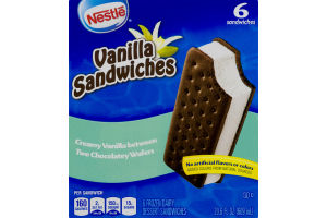 Nestle Vanilla Sandwiches - 6 CT