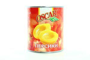 Персик Oscar половинки в сиропе ж/б 820г/850мл