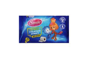 Бумага туалетная влажная Smile Фиксики детская